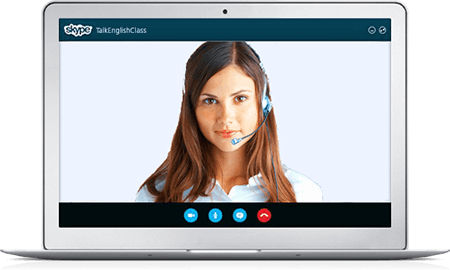 learn English online with Skype classes