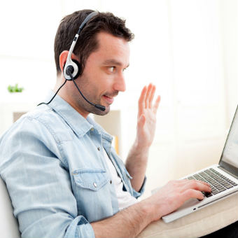 curso de inglés online por Skype