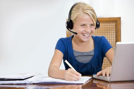 apprendre l'anglais en ligne par Skype