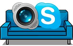 cours d'essai par Skype