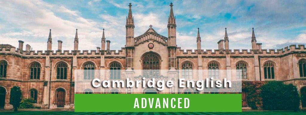 L'examen du Cambridge Advanced pour niveaux avancés