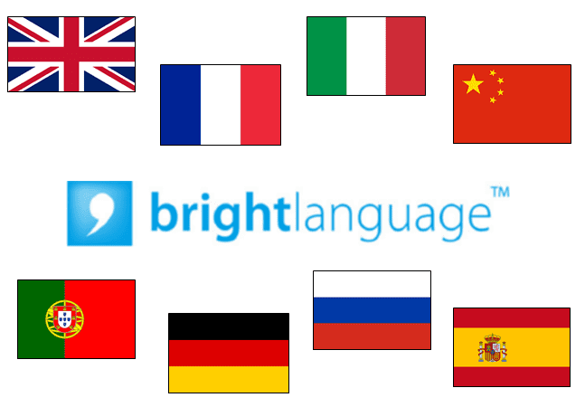 bright language examen