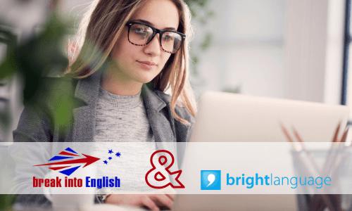 Le test Bright Bliss et Break Into English
