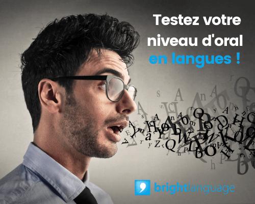 Le test Bright Bliss tester votre niveau en langues