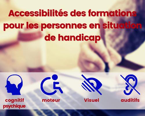 accessibilité des formations en langues pour les personnes en situation de handicap
