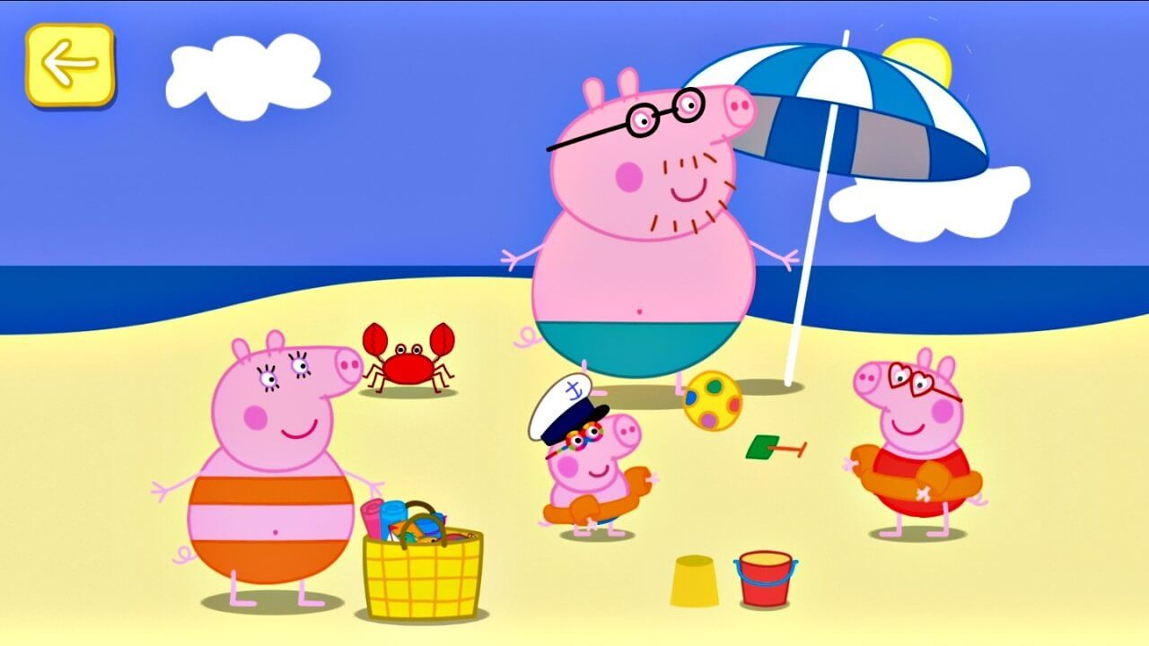 learn English with peppa pig