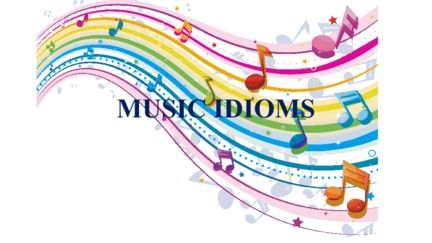 15 music idioms in English