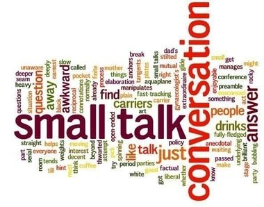 using small talk in english