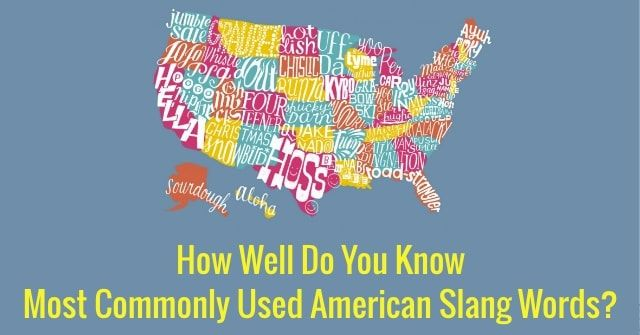 American English Slang Words