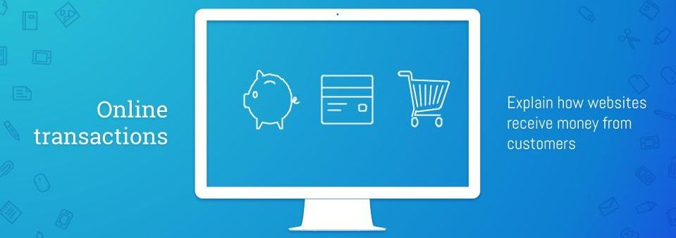 Online transactions English for IT