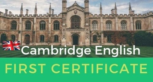 What to expect in the Cambridge First Exam
