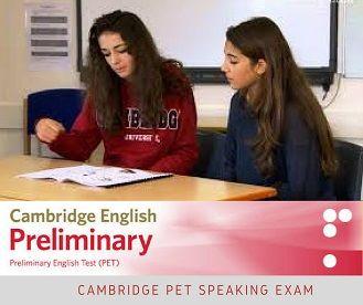 Cambridge PET Speaking Exam video