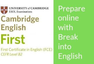 First Exam online preparation