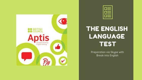 Aptis English Test information