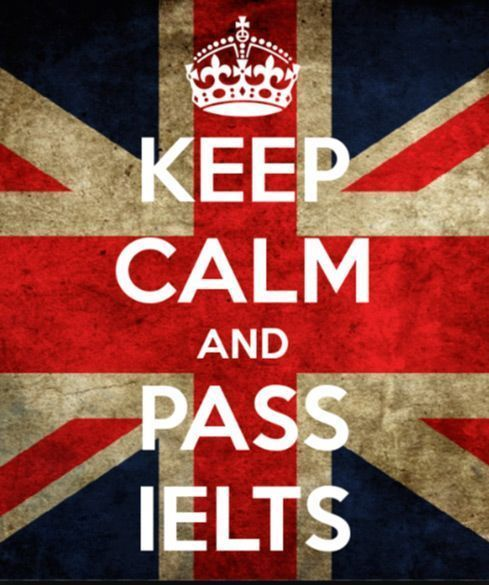 English certificate lessons IELTS keep calm