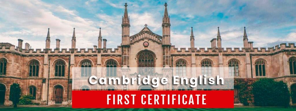 Cambridge FIRST