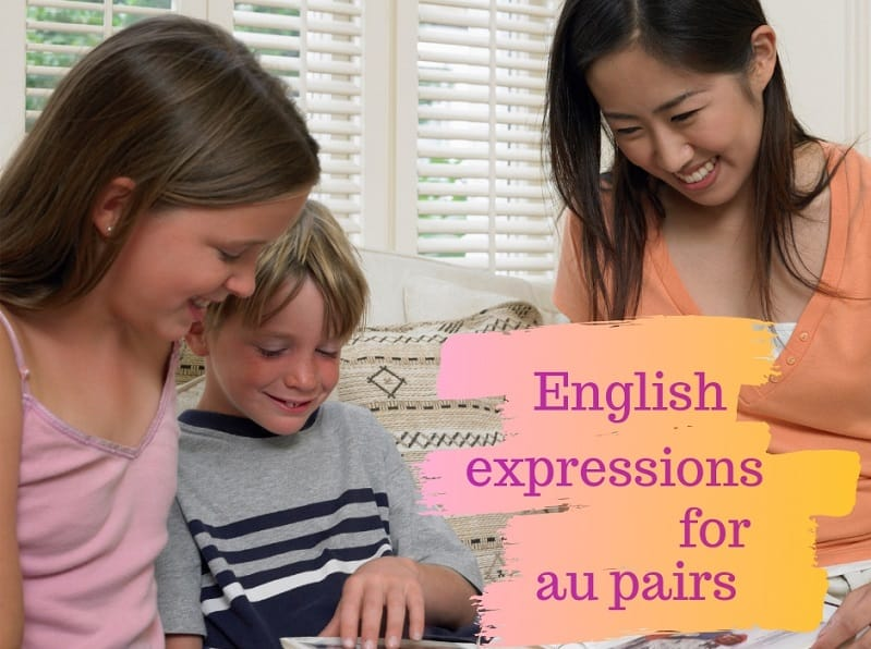 English expressions for au pairs – the morning routine