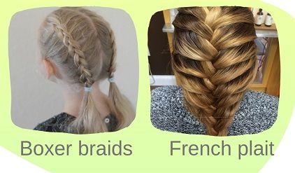 Hair braiding vocab that au pairs will need