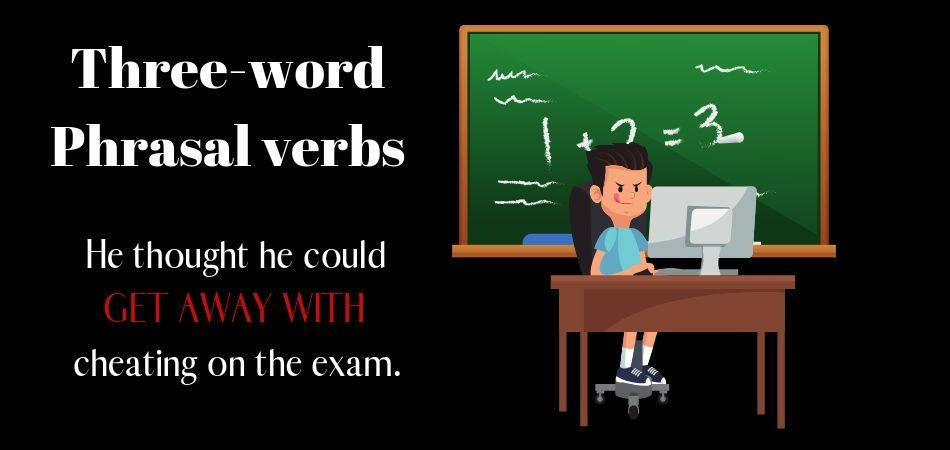 three-word phrasal verbs