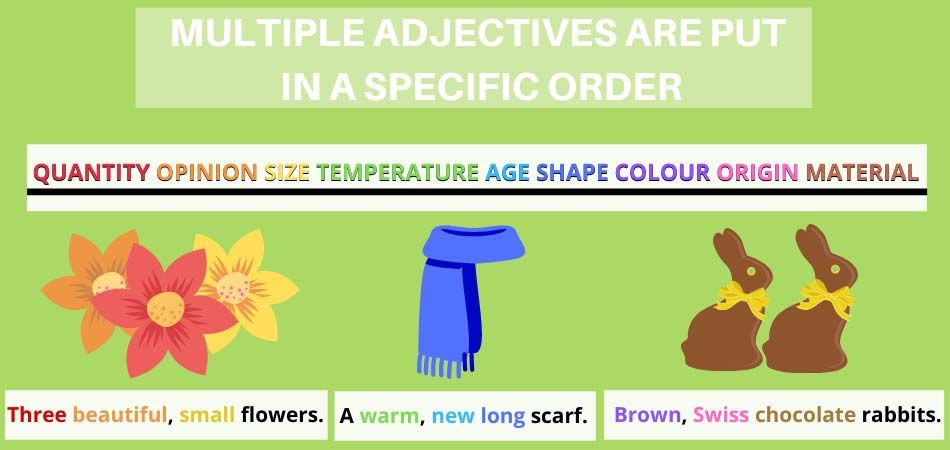 Adjective order in English